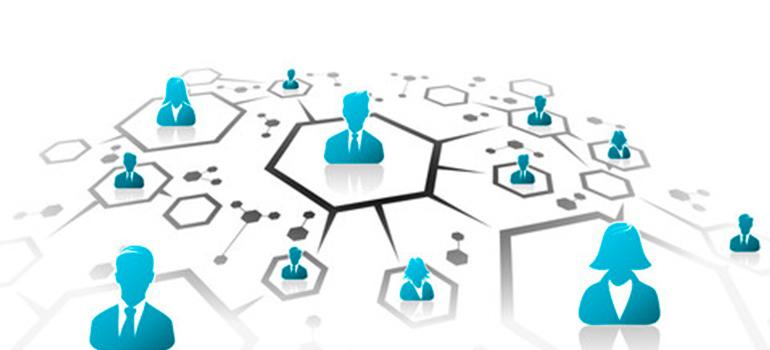 情報ネットワークの画像
