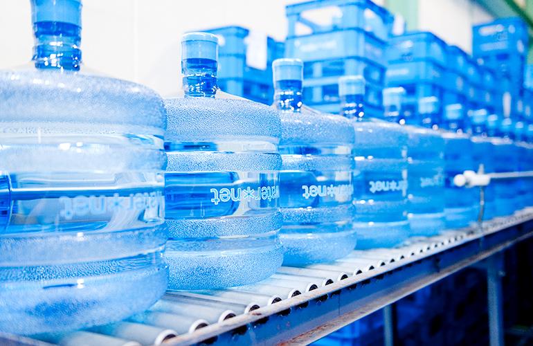 ウォーターネットのボトルの写真